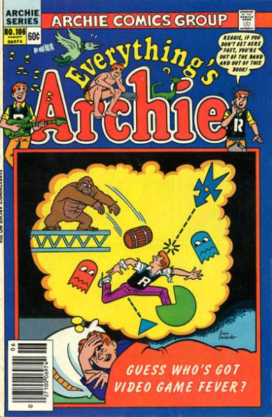 Everything's Archie #106 Comic Books - Covers, Scans, Photos  in Everything's Archie Comic Books - Covers, Scans, Gallery