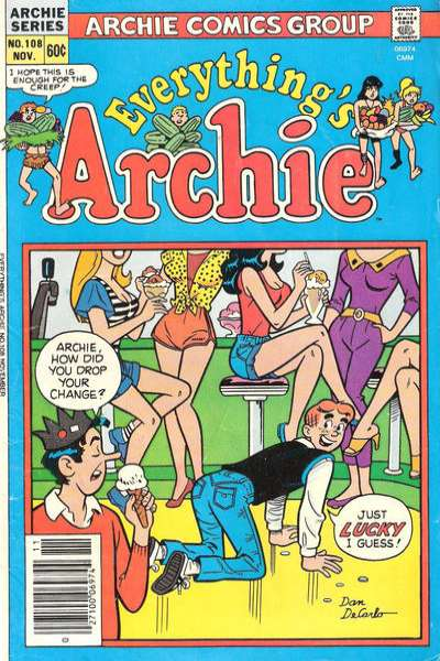 Everything's Archie #108 Comic Books - Covers, Scans, Photos  in Everything's Archie Comic Books - Covers, Scans, Gallery