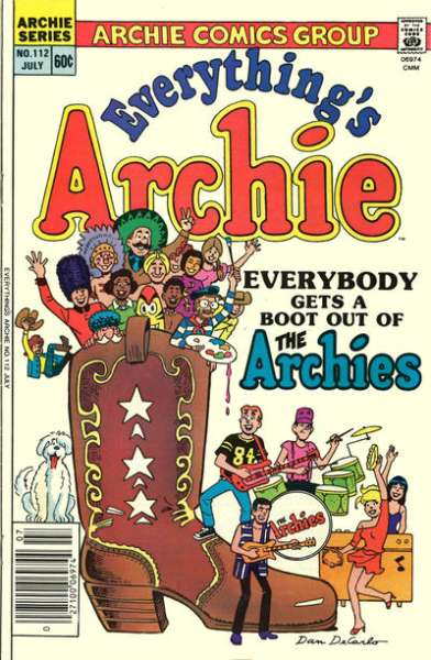 Everything's Archie #112 Comic Books - Covers, Scans, Photos  in Everything's Archie Comic Books - Covers, Scans, Gallery