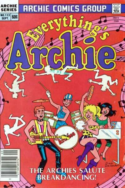 Everything's Archie #113 Comic Books - Covers, Scans, Photos  in Everything's Archie Comic Books - Covers, Scans, Gallery