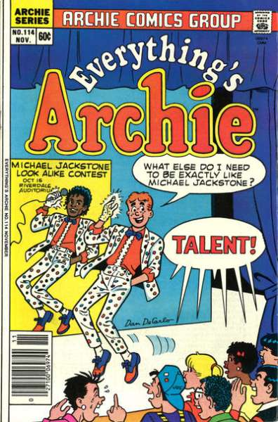 Everything's Archie #114 Comic Books - Covers, Scans, Photos  in Everything's Archie Comic Books - Covers, Scans, Gallery