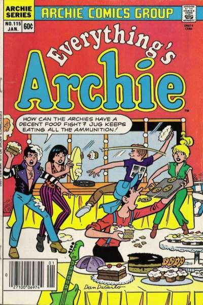 Everything's Archie #115 Comic Books - Covers, Scans, Photos  in Everything's Archie Comic Books - Covers, Scans, Gallery