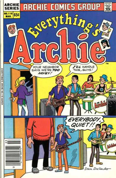 Everything's Archie #116 Comic Books - Covers, Scans, Photos  in Everything's Archie Comic Books - Covers, Scans, Gallery