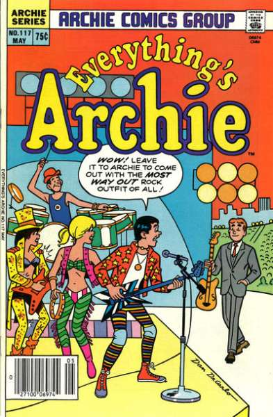 Everything's Archie #117 Comic Books - Covers, Scans, Photos  in Everything's Archie Comic Books - Covers, Scans, Gallery
