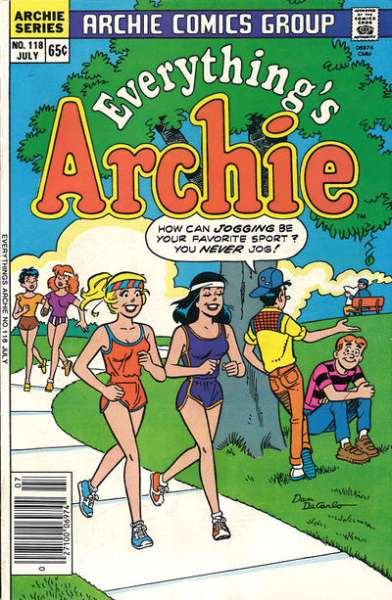 Everything's Archie #118 Comic Books - Covers, Scans, Photos  in Everything's Archie Comic Books - Covers, Scans, Gallery