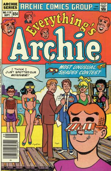 Everything's Archie #119 Comic Books - Covers, Scans, Photos  in Everything's Archie Comic Books - Covers, Scans, Gallery