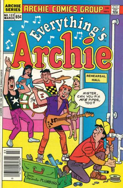 Everything's Archie #122 Comic Books - Covers, Scans, Photos  in Everything's Archie Comic Books - Covers, Scans, Gallery