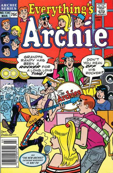 Everything's Archie #134 Comic Books - Covers, Scans, Photos  in Everything's Archie Comic Books - Covers, Scans, Gallery