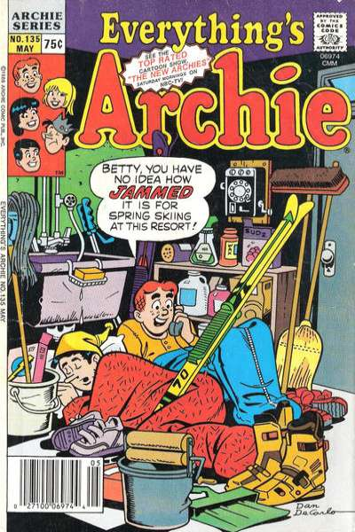 Everything's Archie #135 Comic Books - Covers, Scans, Photos  in Everything's Archie Comic Books - Covers, Scans, Gallery
