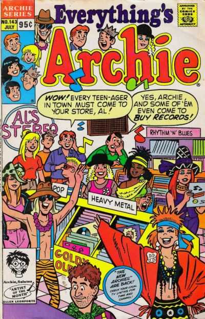 Everything's Archie #143 Comic Books - Covers, Scans, Photos  in Everything's Archie Comic Books - Covers, Scans, Gallery