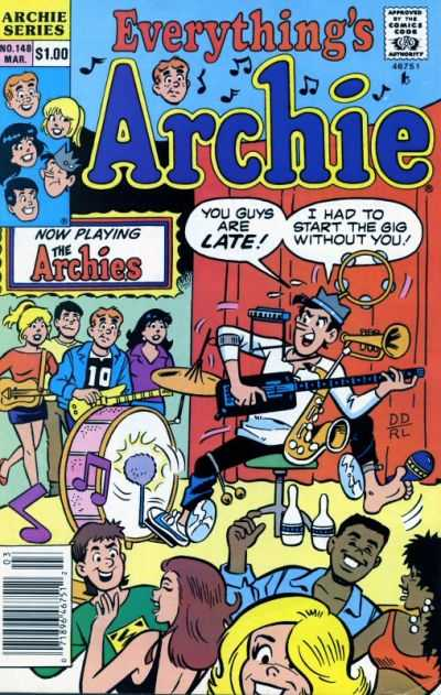 Everything's Archie #148 Comic Books - Covers, Scans, Photos  in Everything's Archie Comic Books - Covers, Scans, Gallery