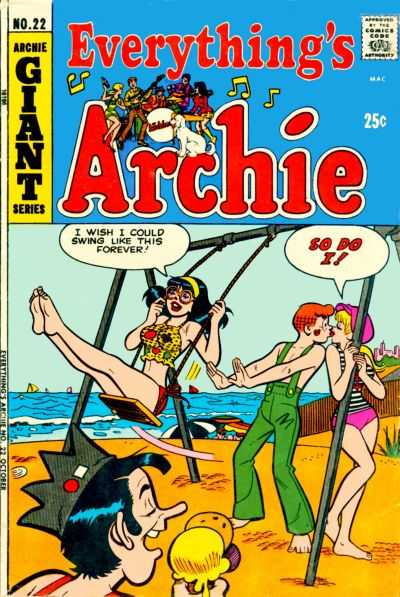 Everything's Archie #22 comic books - cover scans photos Everything's Archie #22 comic books - covers, picture gallery