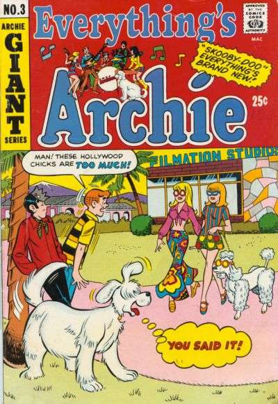 Everything's Archie #3 comic books - cover scans photos Everything's Archie #3 comic books - covers, picture gallery