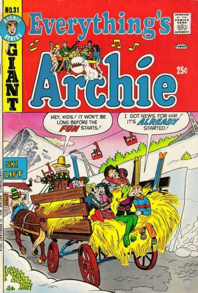 Everything's Archie #31 Comic Books - Covers, Scans, Photos  in Everything's Archie Comic Books - Covers, Scans, Gallery