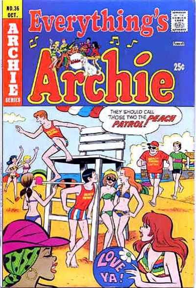 Everything's Archie #36 Comic Books - Covers, Scans, Photos  in Everything's Archie Comic Books - Covers, Scans, Gallery