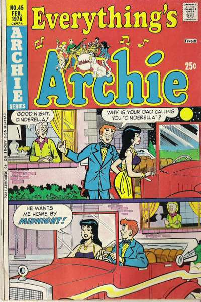 Everything's Archie #45 comic books - cover scans photos Everything's Archie #45 comic books - covers, picture gallery