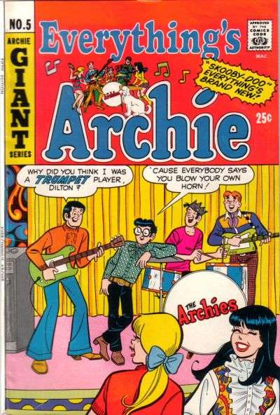 Everything's Archie #5 comic books - cover scans photos Everything's Archie #5 comic books - covers, picture gallery