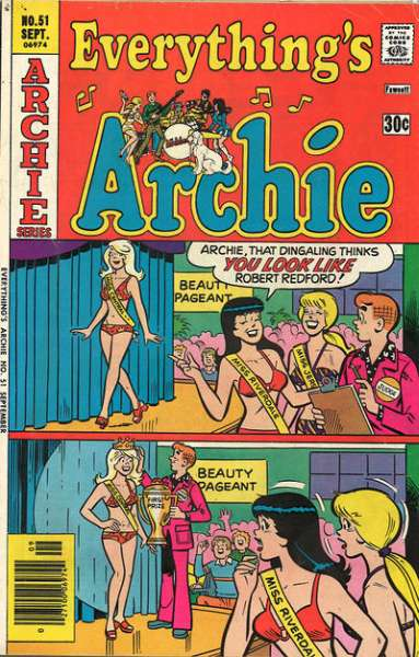 Everything's Archie #51 comic books for sale