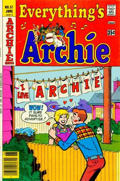 Everything's Archie #57 Comic Books - Covers, Scans, Photos  in Everything's Archie Comic Books - Covers, Scans, Gallery