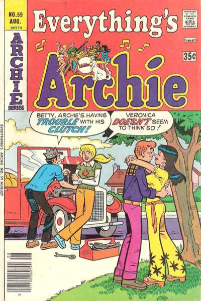 Everything's Archie #59 comic books - cover scans photos Everything's Archie #59 comic books - covers, picture gallery