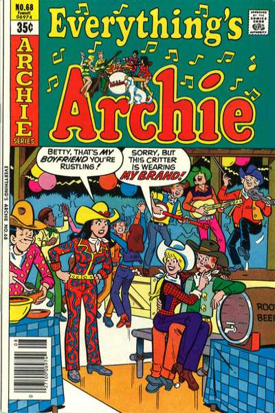 Everything's Archie #68 comic books for sale
