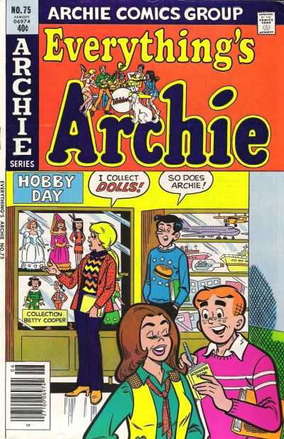 Everything's Archie #75 Comic Books - Covers, Scans, Photos  in Everything's Archie Comic Books - Covers, Scans, Gallery