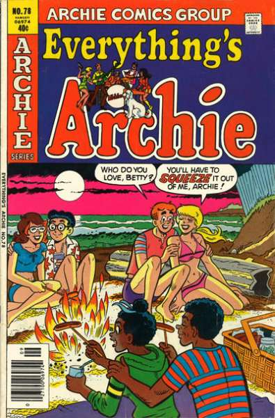Everything's Archie #78 Comic Books - Covers, Scans, Photos  in Everything's Archie Comic Books - Covers, Scans, Gallery