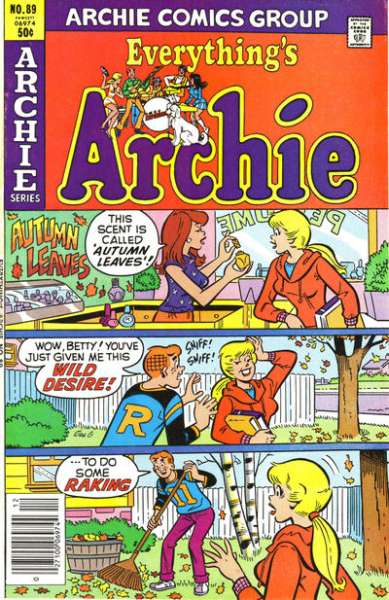 Everything's Archie #89 Comic Books - Covers, Scans, Photos  in Everything's Archie Comic Books - Covers, Scans, Gallery