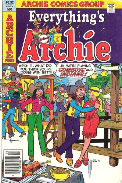 Everything's Archie #92 Comic Books - Covers, Scans, Photos  in Everything's Archie Comic Books - Covers, Scans, Gallery