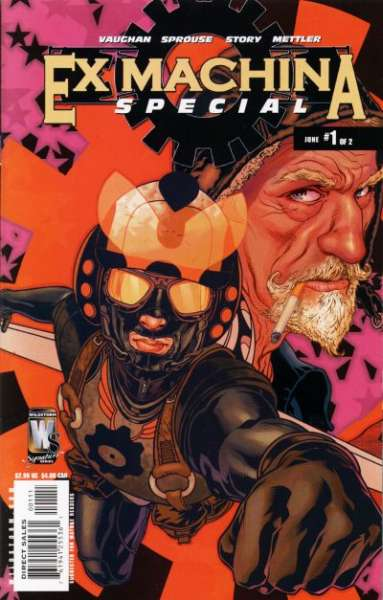 Ex Machina #1 comic books - cover scans photos Ex Machina #1 comic books - covers, picture gallery