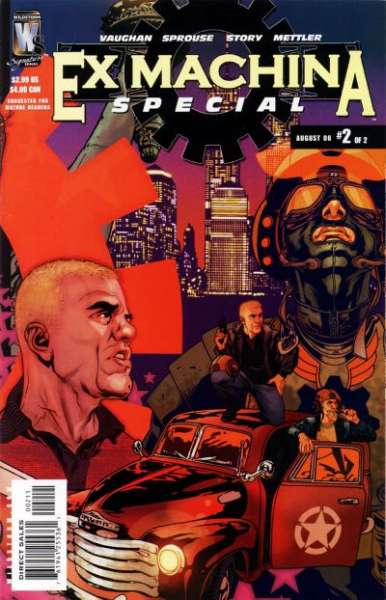 Ex Machina #2 comic books - cover scans photos Ex Machina #2 comic books - covers, picture gallery