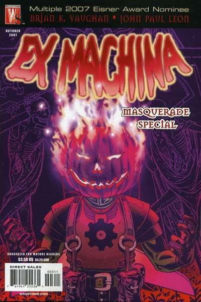 Ex Machina #3 comic books for sale