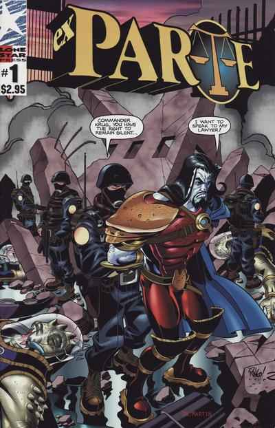 Ex Parte #1 Comic Books - Covers, Scans, Photos  in Ex Parte Comic Books - Covers, Scans, Gallery
