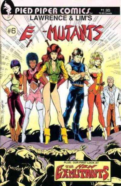 Ex-Mutants #6 Comic Books - Covers, Scans, Photos  in Ex-Mutants Comic Books - Covers, Scans, Gallery