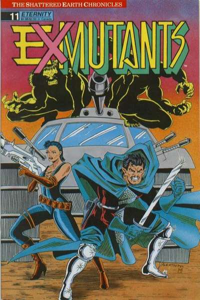 Ex-Mutants #11 comic books for sale