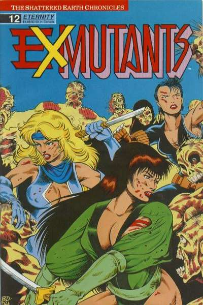 Ex-Mutants #12 Comic Books - Covers, Scans, Photos  in Ex-Mutants Comic Books - Covers, Scans, Gallery