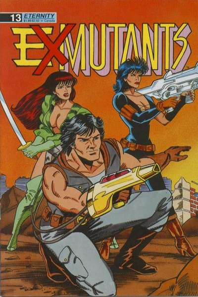 Ex-Mutants #13 comic books for sale