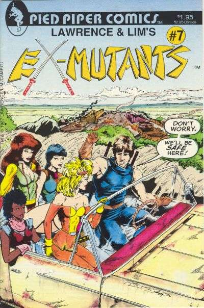 Ex-Mutants #7 comic books for sale