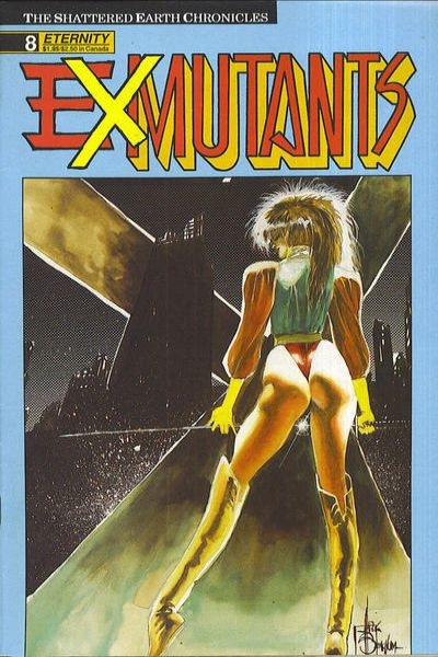 Ex-Mutants #8 Comic Books - Covers, Scans, Photos  in Ex-Mutants Comic Books - Covers, Scans, Gallery