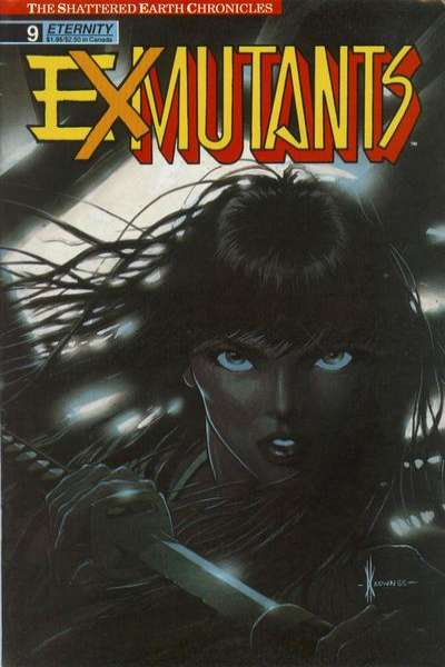 Ex-Mutants #9 Comic Books - Covers, Scans, Photos  in Ex-Mutants Comic Books - Covers, Scans, Gallery