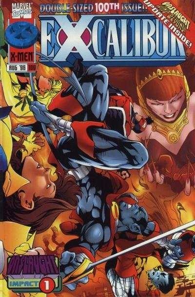 Excalibur #100 comic books - cover scans photos Excalibur #100 comic books - covers, picture gallery