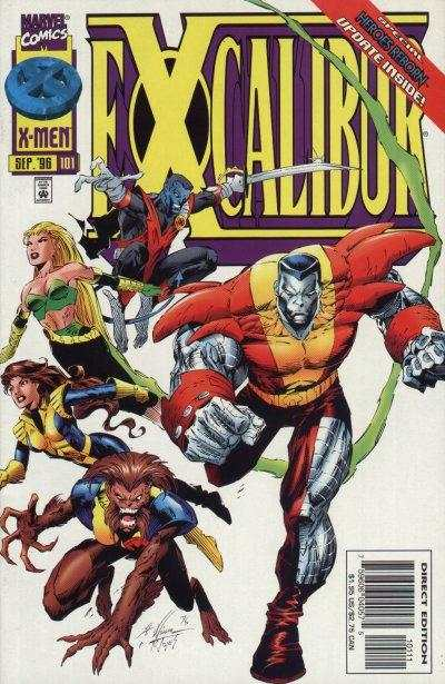 Excalibur #101 comic books - cover scans photos Excalibur #101 comic books - covers, picture gallery