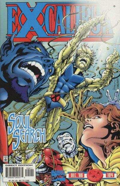 Excalibur #104 Comic Books - Covers, Scans, Photos  in Excalibur Comic Books - Covers, Scans, Gallery