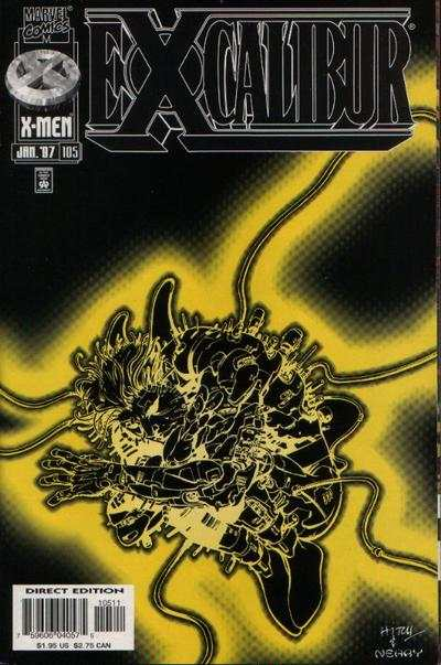 Excalibur #105 comic books for sale