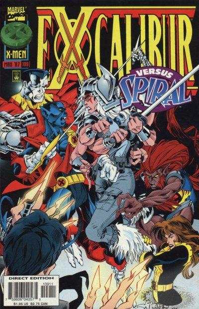 Excalibur #109 comic books - cover scans photos Excalibur #109 comic books - covers, picture gallery