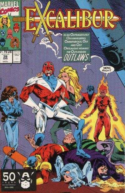 Excalibur #36 Comic Books - Covers, Scans, Photos  in Excalibur Comic Books - Covers, Scans, Gallery
