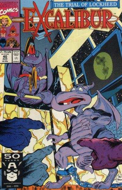 Excalibur #40 Comic Books - Covers, Scans, Photos  in Excalibur Comic Books - Covers, Scans, Gallery