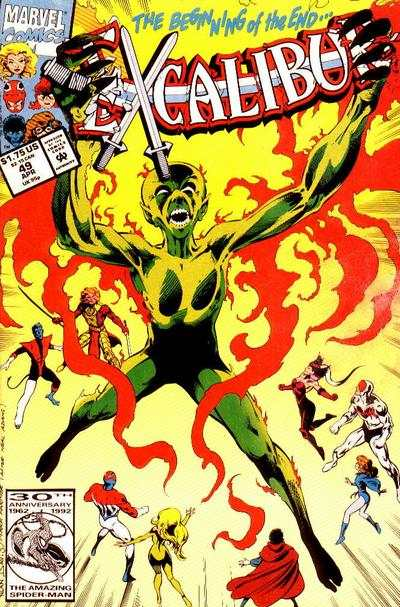 Excalibur #49 Comic Books - Covers, Scans, Photos  in Excalibur Comic Books - Covers, Scans, Gallery