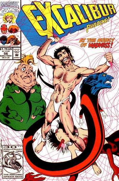 Excalibur #56 Comic Books - Covers, Scans, Photos  in Excalibur Comic Books - Covers, Scans, Gallery