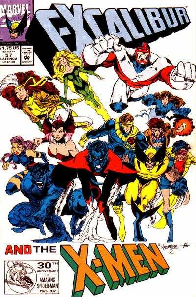Excalibur #57 Comic Books - Covers, Scans, Photos  in Excalibur Comic Books - Covers, Scans, Gallery